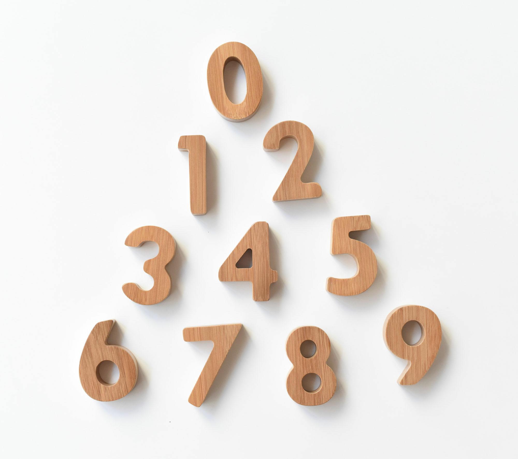 bambusz számok 1-9-ig