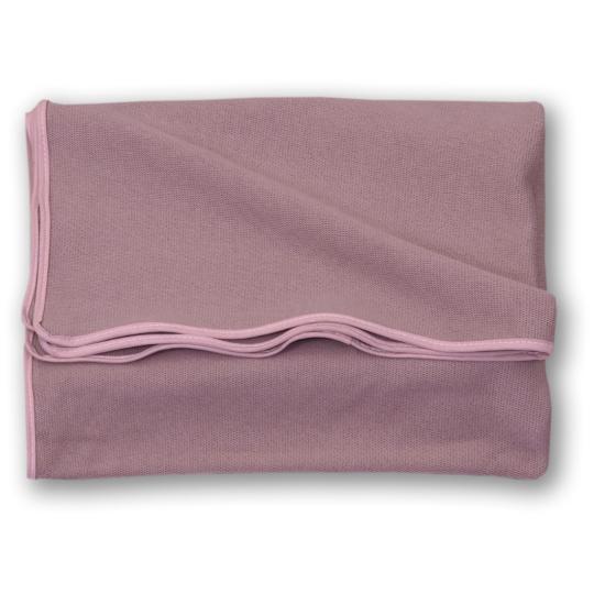 AMY Pure kötött baba takaró 75x110 cm- Rózsaszín