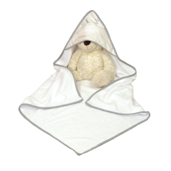 AMY baba törölköző 75x75 cm- bézs