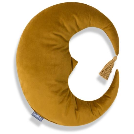 Bellochi gyerek díszpárna- Mustársárga hold