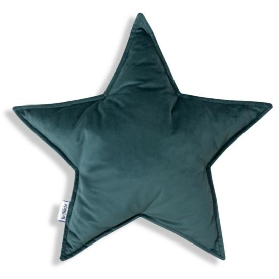 Bellochi gyerek díszpárna- Zöld csillag