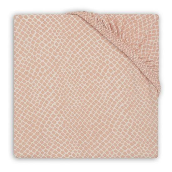 Jollein lepedő 60x120 cm- Hamvas rózsaszín