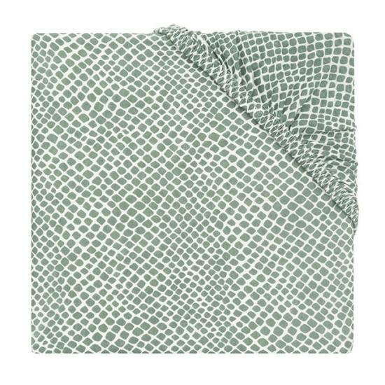 Jollein lepedő 60x120 cm- Zsálya zöld