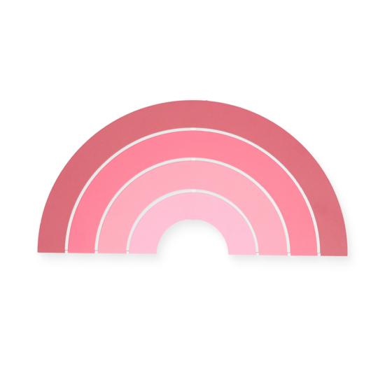 Jollein éjjeli fény-Púder rózsaszín szivárvány