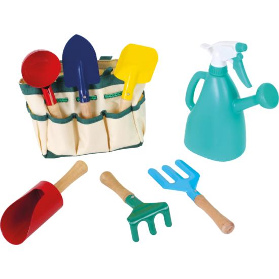 Gyerek kerti szerszám készlet locsoló kannával