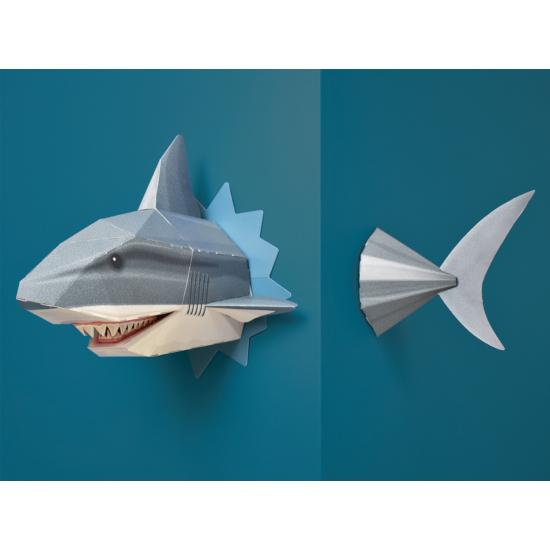 Origami - Építs cápát!