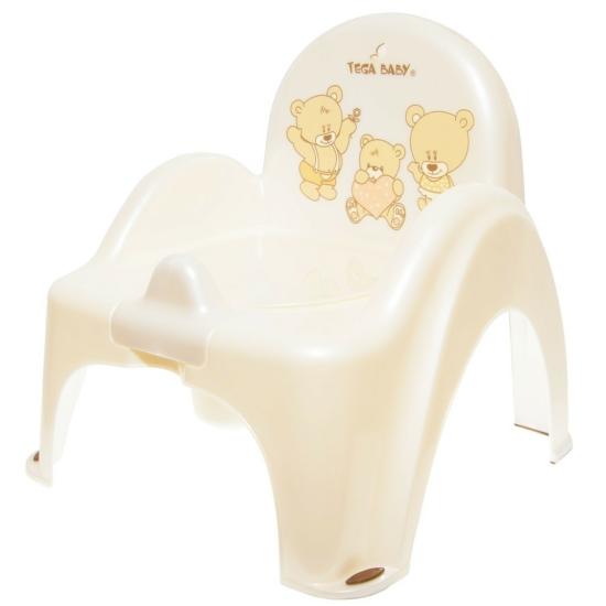 Tega Baby bili becsukható fedéllel- Teddy bézs