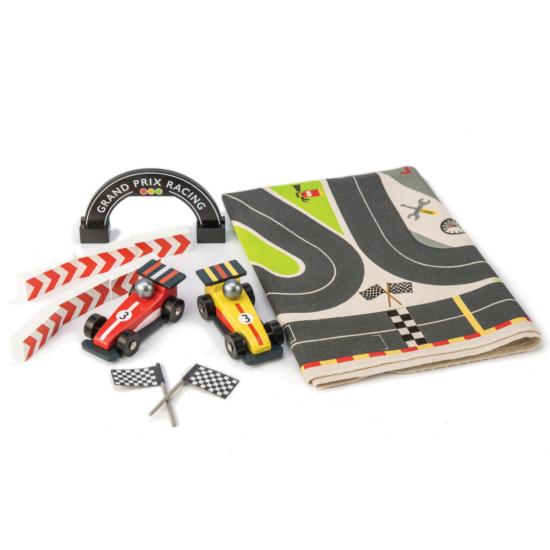 Forma 1 kis autós játszószőnyeg