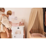Kép 4/4 - Jollein babafészek- Hamvas rózsaszín