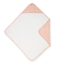 Kép 3/6 - Jollein baba törölköző, 75x75 cm- Hamvas rózsaszín