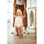 Kép 2/6 - Jollein baba törölköző, 75x75 cm- Hamvas rózsaszín