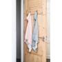 Kép 5/6 - Jollein baba törölköző, 75x75 cm- Hamvas rózsaszín