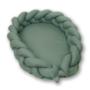 Kép 1/6 - AMY Pure fonott babafészek- Kobaltzöld
