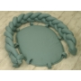 Kép 2/6 - AMY Pure fonott babafészek- Kobaltzöld