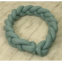 Kép 3/6 - AMY Pure fonott babafészek- Kobaltzöld