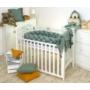 Kép 6/6 - AMY Pure fonott babafészek- Kobaltzöld
