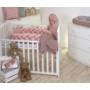 Kép 5/6 - AMY Pure fonott babafészek- Rózsaszín