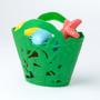 Kép 2/4 - Óceán lakói fürdő játék készlet, zöld