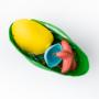 Kép 3/4 - Óceán lakói fürdő játék készlet, zöld