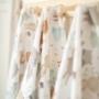 Kép 2/5 - ColorStories bambusz takaró, 100x120 cm- Erdei állatok