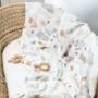 Kép 4/5 - ColorStories bambusz takaró, 100x120 cm- Erdei állatok