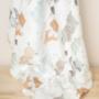 Kép 5/5 - ColorStories bambusz takaró, 100x120 cm- Erdei állatok