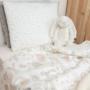 Kép 5/5 - ColorStories bevarrt babaágynemű, 2 db-os- Bézs nyuszi