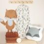 Kép 4/5 - ColorStories nyári baba hálózsák, 70 cm- Erdei állatok