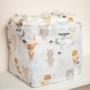 Kép 2/5 - ColorStories tároló doboz, 16x16 cm- Erdei állatok