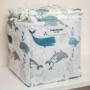 Kép 2/5 - ColorStories tároló doboz, 16x16 cm- Óceán