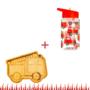 Kép 1/4 - Tűzoltós Basic gyerek étkészlet szett, 2 részes