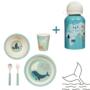 Kép 1/6 - Védett állatok Basic gyerek étkészlet szett, 6 részes