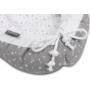 Kép 3/6 - Bellochi 5 részes babafészek szett- Szürke csillagok