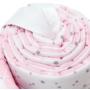 Kép 3/3 - Bellochi rácsvédő, 180 cm- Rózsaszín csillagok
