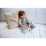 Kép 6/7 - Jollein baba hálózsák, 4 évszakos, 110 cm- Bloom