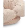 Kép 3/6 - Hamvas rózsaszín Basic babafészek szett, 2 részes