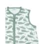 Kép 2/3 - Jollein nyári baba hálózsák, 70 cm- Zsálya zöld bálnák