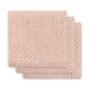 Kép 2/5 - Jollein prémium textil pelenka, 70x70 cm, 3 db- Hamvas rózsaszín