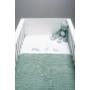 Kép 2/3 - Jollein vékony kötött baba takaró 75x100 cm- Bambuszzöld