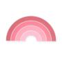 Kép 1/2 - Jollein éjjeli fény-Púder rózsaszín szivárvány