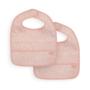 Kép 1/2 - Jollein vízhatlan előke 2 db- Hamvas rózsaszín