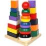 Kép 1/3 - Montessori torony, 3az 1-ben piramisok