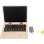 Kép 1/3 - Gyerek laptop, mágneses táblával és mobiltelefonnal