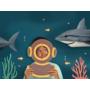 Kép 5/6 - Origami - Építs cápát!