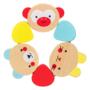 Kép 3/4 - Fa baba rágóka- több színű