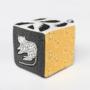Kép 1/4 - Pamut foglalkoztató kocka a dzsungel állataival